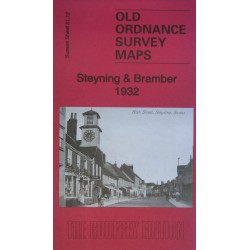 Steyning and Bramber 1932 OS Map